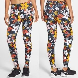 Nike Leg-A-See Hawaiian Floral Leggings